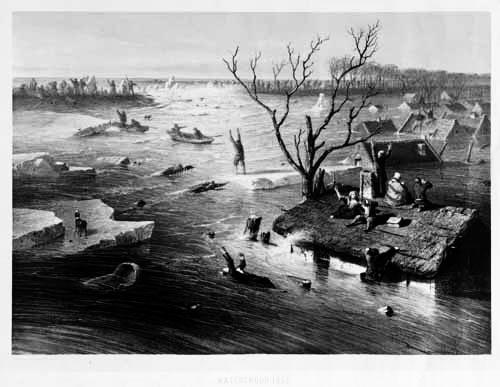 Esperti olandesi aiutano i vicini inglesi con le alluvioni