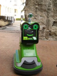 Progetto olandese per realizzazione di una guida turistica robotica in Spagna.