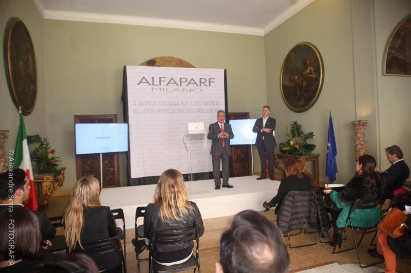 Presentazione del Gruppo ALFAPARF MILANO  a Lisbona