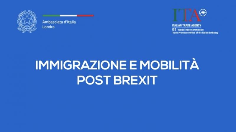 Brexit: mobilità e immigrazione