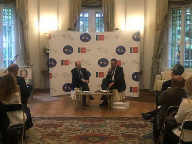 Incontro in Ambasciata con le imprese italiane e il Presidente della Camera di Commercio Serba Marko Čadež