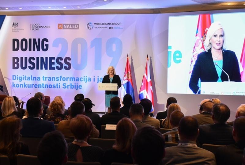 La Serbia perde 5 posizioni nella classifica Doing Business 2019 della Banca Mondiale
