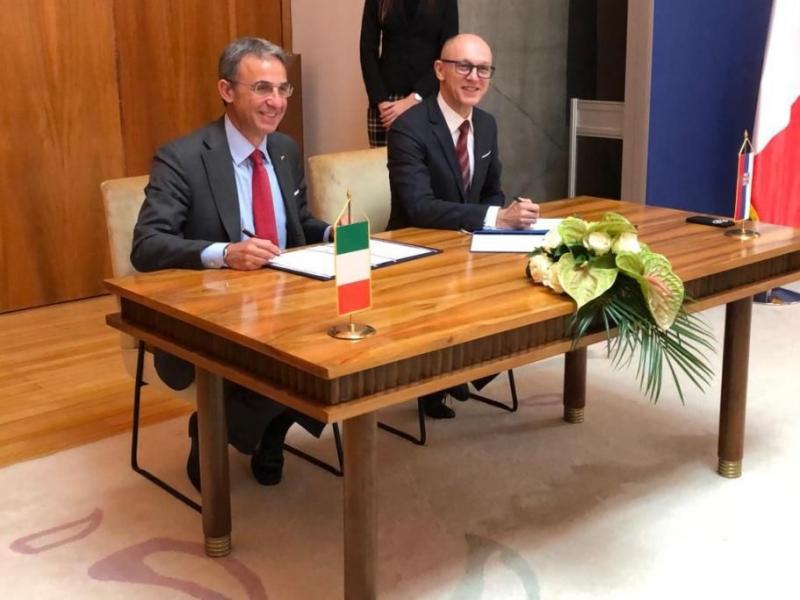 Il Ministro dell'Ambiente Sergio Costa in visita in Serbia