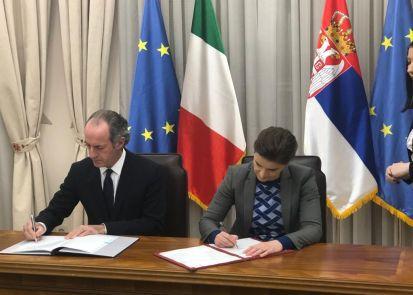 Visita in Serbia del Presidente Regione Veneto, Luca Zaia