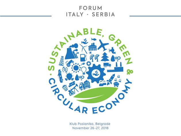 """Italian-Serbian forum – circular, green and sustainable economy"""