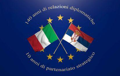 140 anni di relazioni diplomatiche tra Italia e Serbia