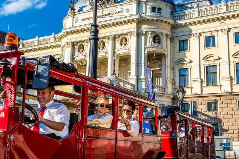 Bratislava punta a 1 milione e mezzo di turisti quest'anno