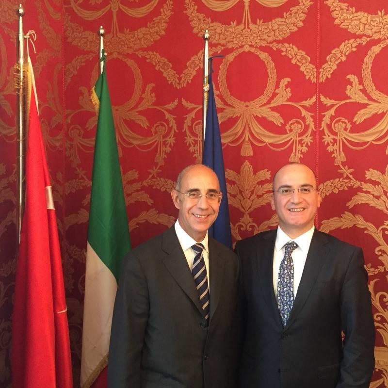 Incontro con la comunità d'affari italiana in Turchia