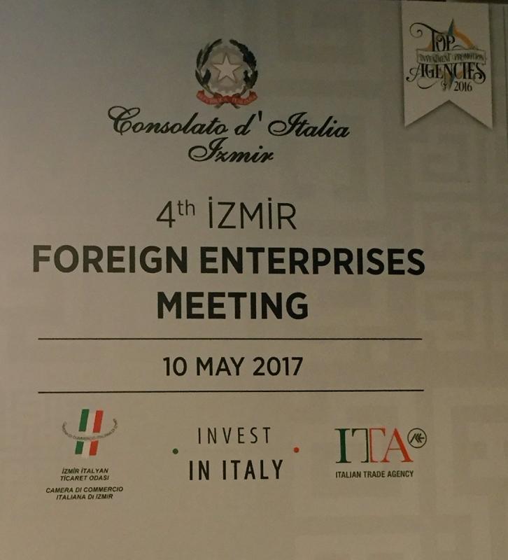Evento promozionale del Sistema Italia ad Izmir