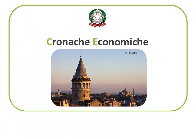 È online il n° 01 delle Cronache Economiche