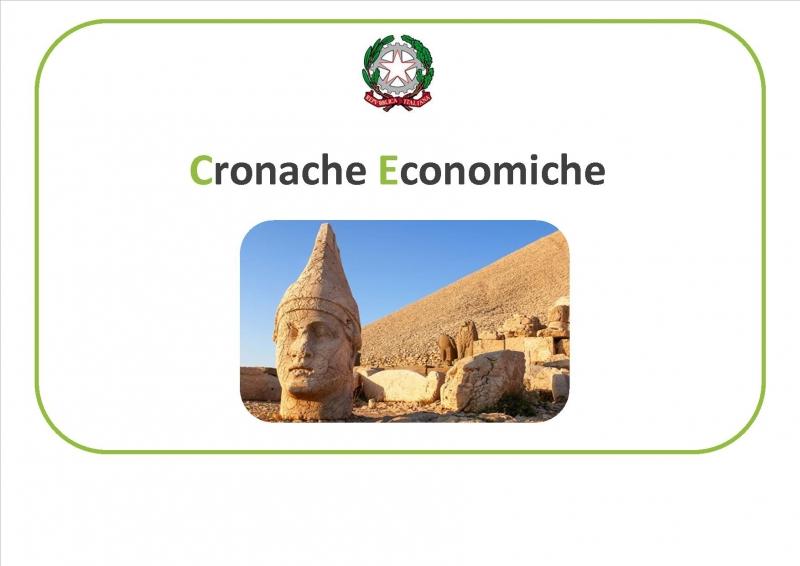 È online il n° 15 delle Cronache Economiche