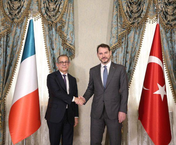 Missione in Turchia del Ministro Giovanni Tria