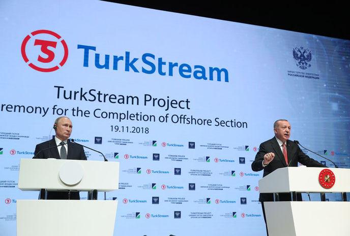 Completamento dei lavori della sezione sottomarina del Turkstream