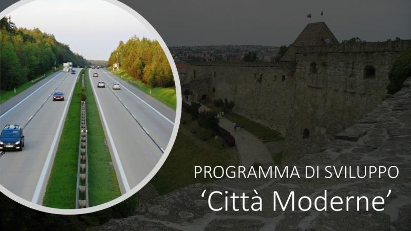 PROGRAMMA DI SVILUPPO 'CITTÀ MODERNE'
