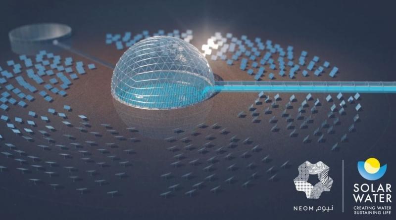 La città del futuro saudita NEOM sarà rifornita di aqua potabile da una centrale di desalinizzazione alimentata ad energia solare