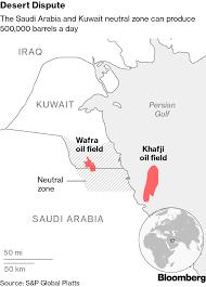 Arabia Saudita e Kuwait riavviano la produzione petrolifera dai giacimenti di confine operati congiuntamente (Khafji e Wafra)